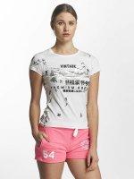 Superdry t-shirt Premium Goods Doodle Entry wit