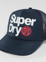 Superdry Trucker Cap Baseball Lineman blau