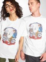 Tealer T-shirt Stranger Things bianco