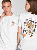 Tealer T-skjorter Noodle Club hvit