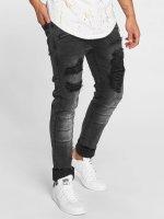 Terance Kole Straight fit jeans Benno zwart