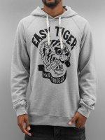 The Dudes Hoody Easy Tiger grau