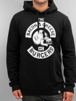 The Dudes Hoody Bacon Cheese Burgers schwarz