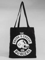 The Dudes Shopper Bacon Cheese Burgers zwart