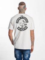 The Dudes T-Shirt Bacon Cheese Burgers BP blanc