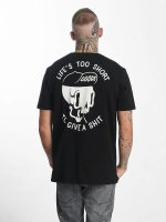 The Dudes T-Shirt Too Short schwarz