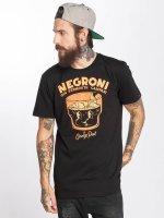 The Dudes T-Shirt Negroni schwarz