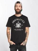 The Dudes T-Shirt Unathletics Drinking schwarz