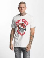 The Dudes t-shirt Easy Tiger wit