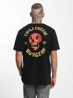 The Dudes t-shirt Chili Cheese zwart