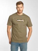 The Hundreds T-Shirt Camo Bar braun