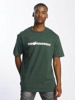 The Hundreds T-Shirt Forever Bar Logo grün