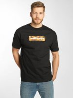The Hundreds T-Shirt Camo Bar schwarz