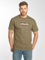The Hundreds T-Shirty Camo Bar brazowy