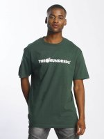 The Hundreds T-Shirty Forever Bar Logo zielony