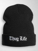 Thug Life Basic Beanie Basic Old Englisch zwart