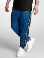 Thug Life joggingbroek Two Stripes blauw