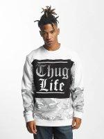 Thug Life Jumper New Life white