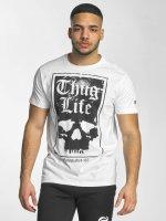 Thug Life T-paidat Established 187 valkoinen