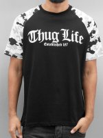 Thug Life t-shirt Deadknight zwart