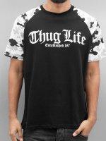 Thug Life T-Shirty Deadknight czarny