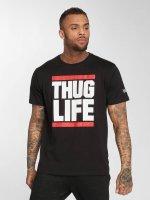 Thug Life T-skjorter B.Fight svart