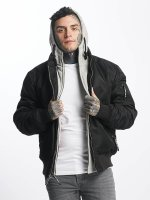 Thug Life Übergangsjacke Manchester Hooded schwarz