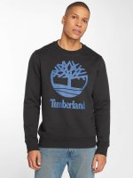 Timberland Pullover Stacked Logo schwarz
