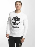 Timberland Pullover Stacked Logo weiß