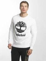Timberland Sweat & Pull Stacked Logo blanc