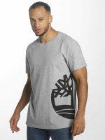 Timberland t-shirt Multigraphic grijs