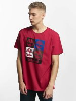 Timberland T-Shirty 90'S Logo czerwony
