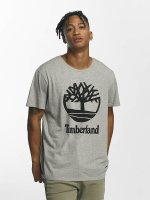 Timberland T-Shirty Linear Basic Stacked szary