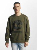 Timberland trui Stacked olijfgroen