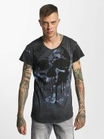 trueprodigy Camiseta Paint Skull azul