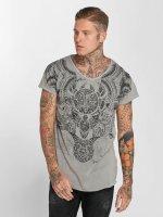 trueprodigy Camiseta Maori Culture gris