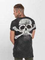 trueprodigy T-Shirt Skeletor grey