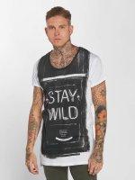 trueprodigy T-Shirt Stay Wild white
