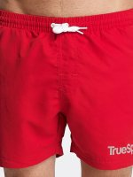 TrueSpin Short de bain Swim rouge