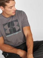 Under Armour T-paidat Boxed Sportstyle harmaa