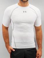 Under Armour T-Shirt Heatgear Compression blanc