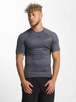Under Armour T-Shirt Heatgear Printed Shortsleeve Compression grau
