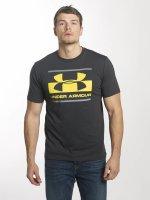 Under Armour T-Shirt Blocked Sportstyle grau