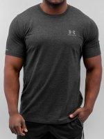 Under Armour T-Shirt Charged Cotton Left Chest Lockup noir