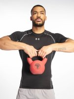 Under Armour t-shirt Heatgear Compression zwart