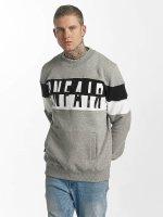 UNFAIR ATHLETICS Swetry Contrast Zipped szary