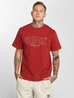 UNFAIR ATHLETICS T-Shirt Label Outlines red