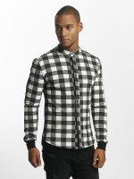 Uniplay overhemd Checkered zwart