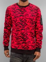 Urban Classics Пуловер Sweat Camo Bomber красный