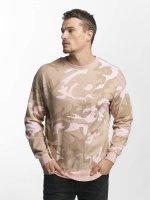 Urban Classics Пуловер Camo розовый
